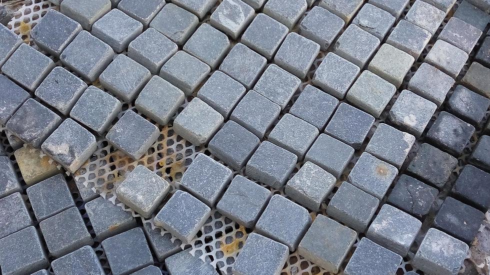 Black Cubes Mosaic
