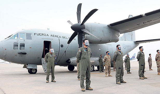 Aviones están preparados para traslado de vacunas por todo el Perú