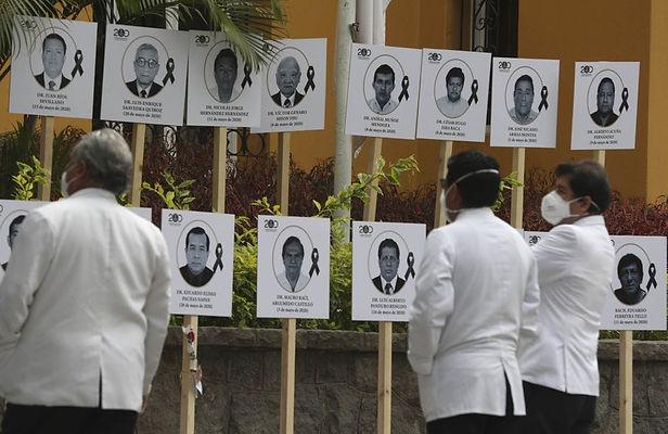 Perú ocupa el tercer lugar en muertes de trabajadores de salud y embarazadas a causa del Covid-19