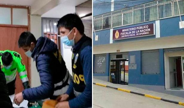 Apurímac: detienen a sereno y policía que se habrían apropiado de droga