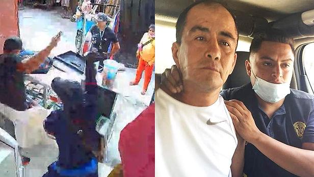 """Policía captura a """"Cara Cortada"""", sindicado de asesinar a comerciante venezolano en Trujillo"""