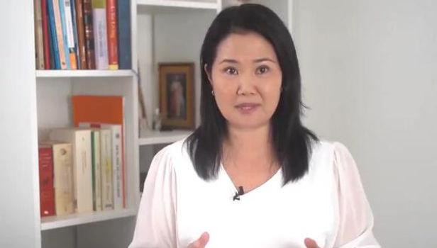 Keiko Fujimori, Rechazó palabras del congresista que pidió ser prioridad para vacuna contra el COVID-19