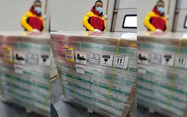 Hoy llega el primer lote de vacunas covid-19 al Perú