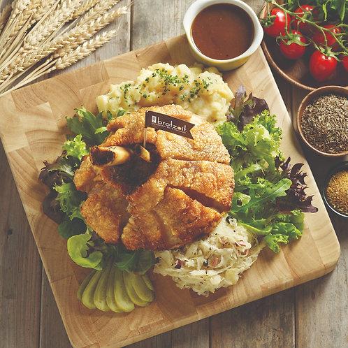 Crispy Oven Roasted Pork Knuckle