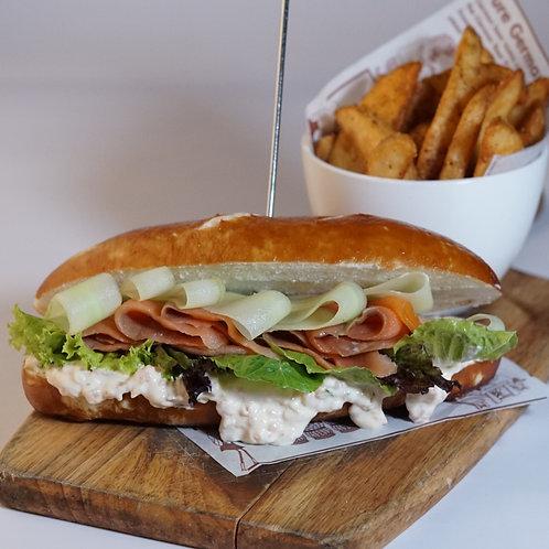 Angela (Smoked Salmon Sandwich)