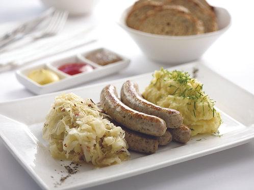 Grilled Pork Sausages (Nürnberger)