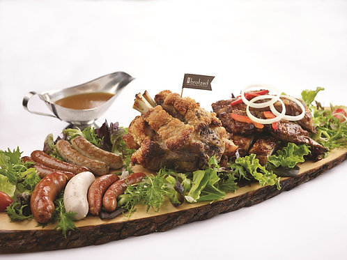 Brotzeit Platter with Ribs (For 4 to 5 persons)