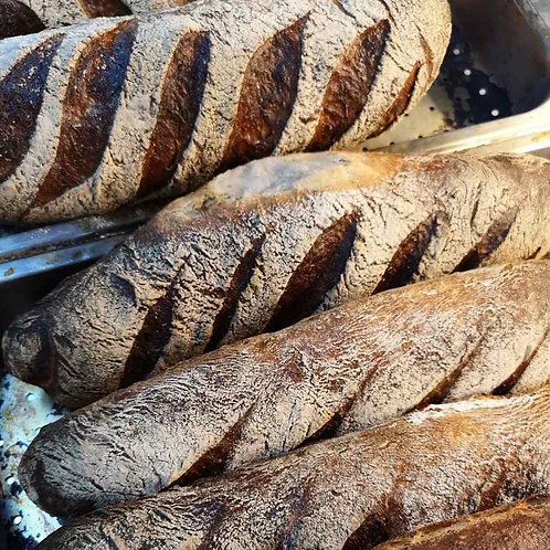 Crusty Sourdough Loaf