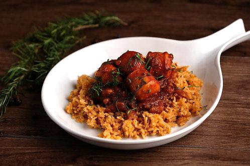 Pork and Beans (Rice Pilav)