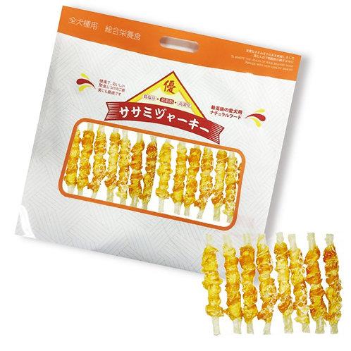 優質BQ 雞肉牛皮棒 (10包裝)