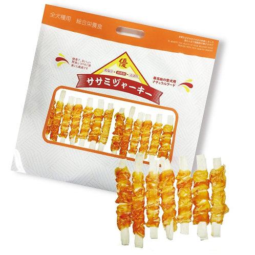 優質BQ 雞肉繞鱈魚絲 (10包裝)