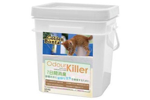 Golden Bonta ( 金毛迪 ) 特強殺菌配方貓砂 10kg ( 桶裝 )