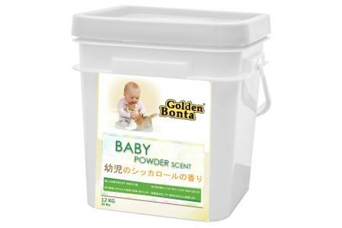 Golden Bonta ( 金毛迪 ) 爽身粉味配方貓砂 12kg ( 桶裝 )