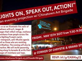 Chinatown Art Brigade!