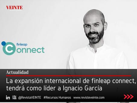 La expansión internacional de finleap connect, tendrá como líder a Ignacio García