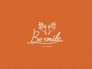 【お仕事情報】Be smile様 ロゴデザイン