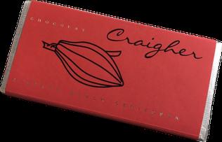 Walderdbeerschokolade - weiße Schokolade