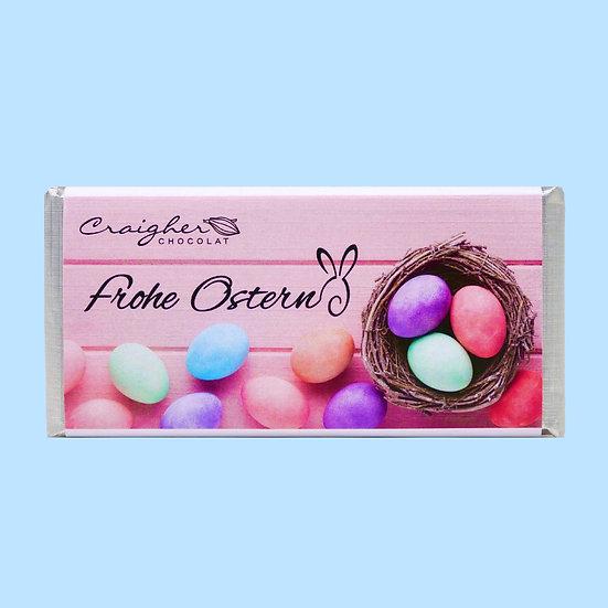 Heidelbeerschokolade - weiße Schokolade
