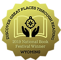 2019 National Book Festival Winner for Wyoming Seal