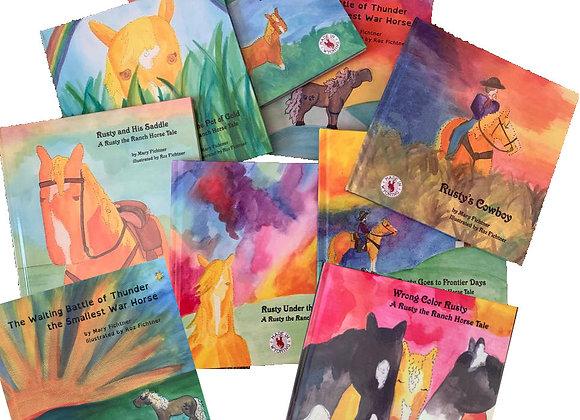 Full Set of all Nine Books