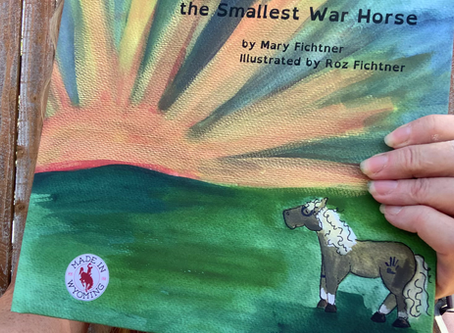 Story Time! The Waiting Battle of Thunder the Smallest War Horse
