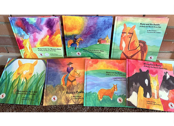 Full set of all seven Rusty the Ranch Horse books