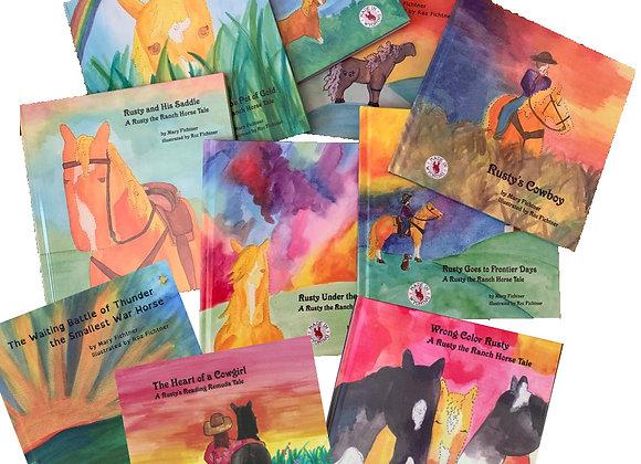 Full Set of all Ten Books