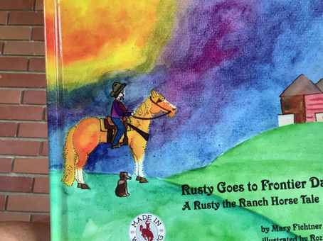 Story time! Rusty Goes to Frontier Days