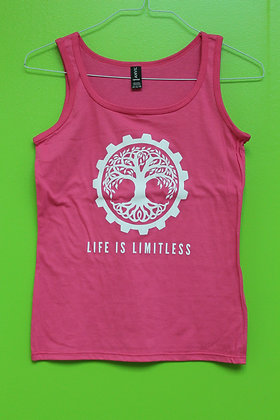 Life is Limitless Ladies Tank Top