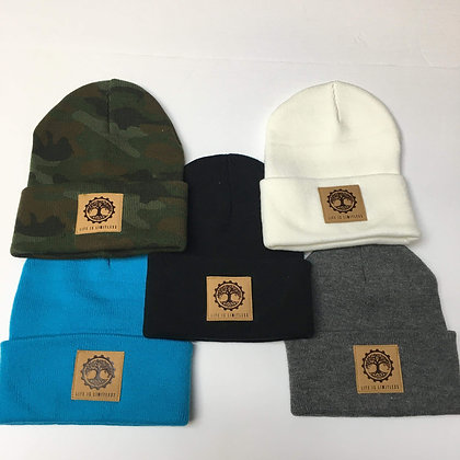 Life is Limitless Fold-Over Toque