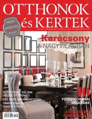 Pubblicazione su Otthonok és Kertek