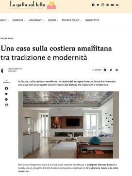 Ernesto Fusco interiørblog - La gatta su