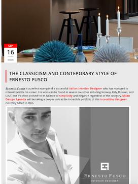 Ernesto Fusco Interiørmagasin - Milan Design Agenda