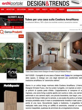 Ernesto Fusco interiørblog - Archiportal
