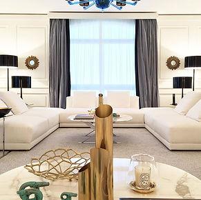 Guarda il progetto di interior design classicismo contempoarneo
