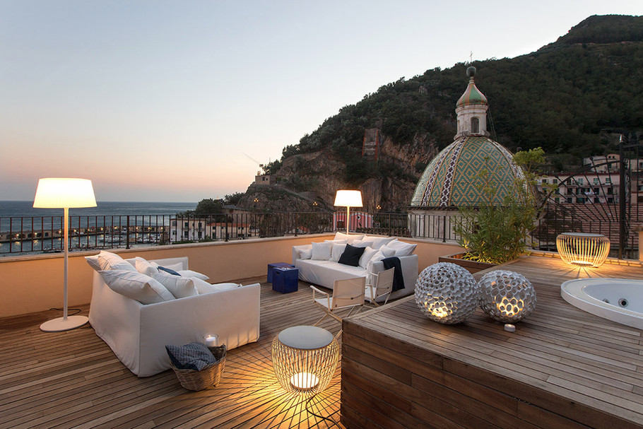 Ernesto Fusco Interiørarkitekt - Terrasse