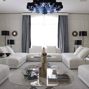 Prosjekt Moderne Klassisime - Hvit Stue