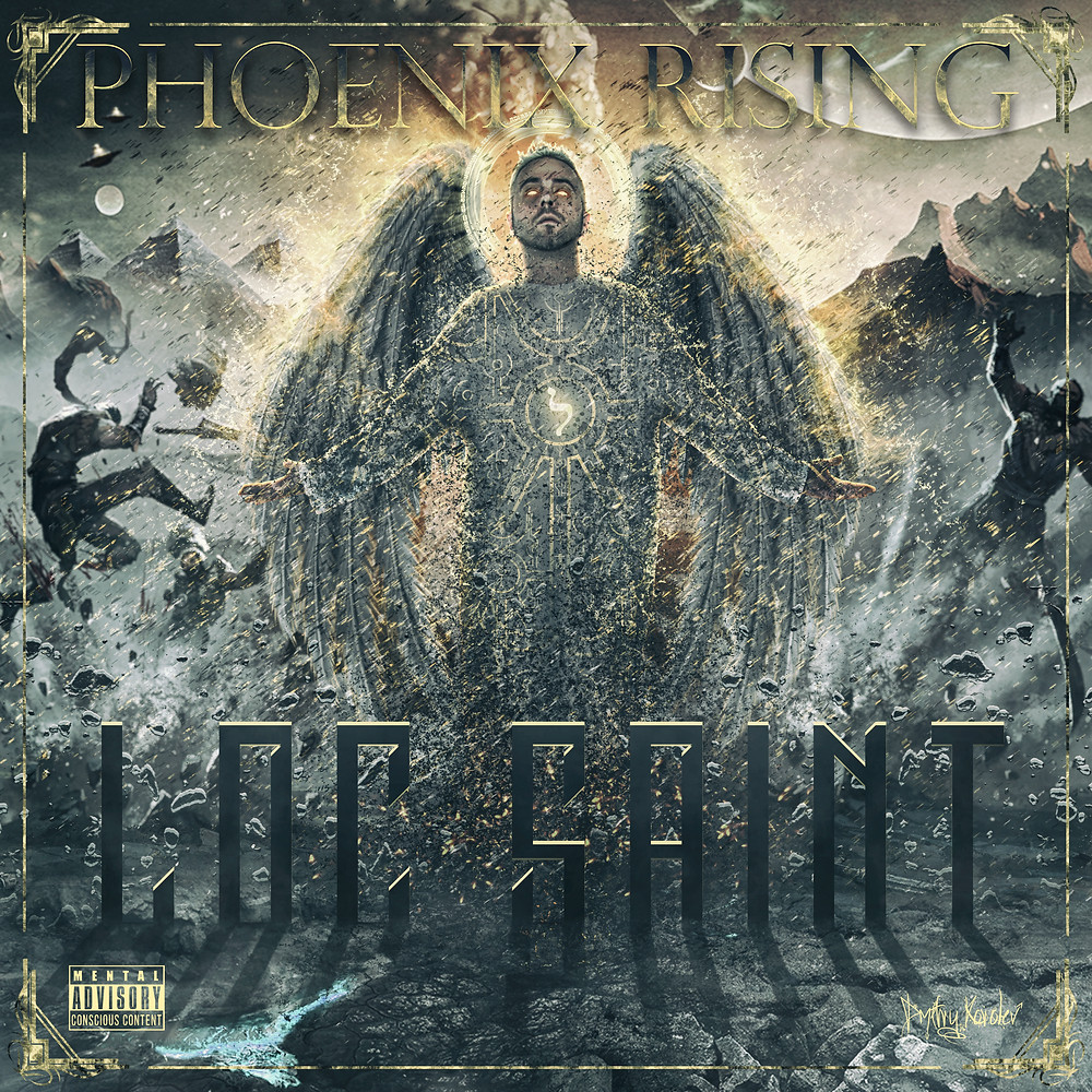 "In Light of Recent Events escalating, ""Phoenix Rising"", Loc Saint's 1st Extremely Conscience Album is in the works. No Official Release date has been set yet. Check back for more Updates"