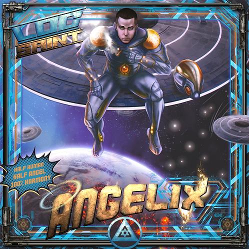 "Loc Saint's ""Angelix"" Album Hard Copy"