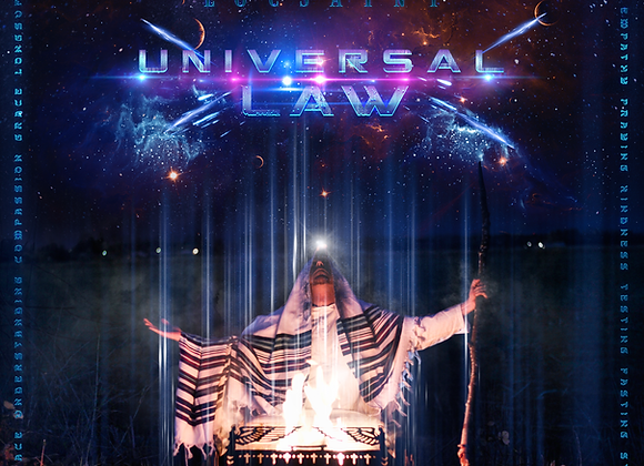 """Autographed """"Universal Law"""" Hard Copy CD"""