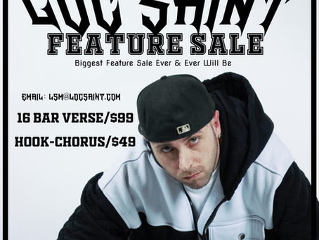 MASSIVE LOC SAINT FEATURE SALE
