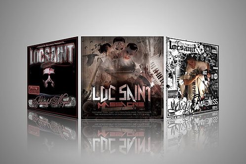 "Loc Saint ""Up 2 Speed"" 3 Digital MP3 Album Deal"