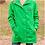 Thumbnail: Rain Jacket - Green & Navy