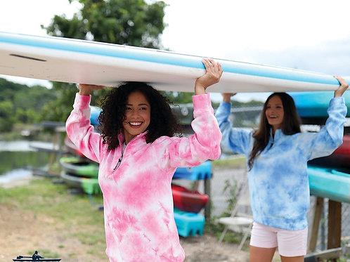 Tie-Dye Sweatshirt - Pink or Blue