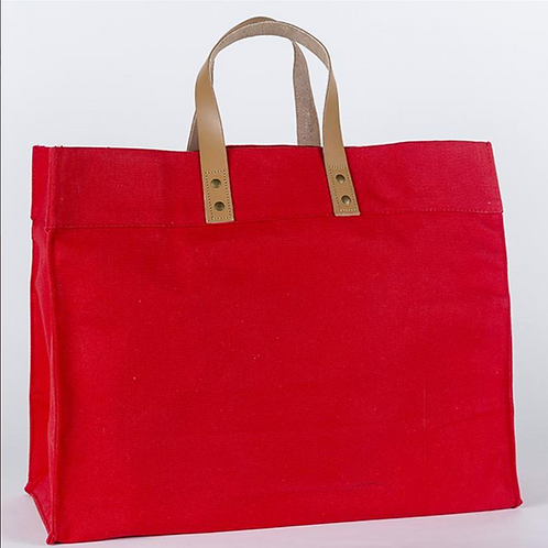 Tote - Red, White, Blue & Black