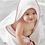 Thumbnail: Terry Hoodie Bath Towel - Pink