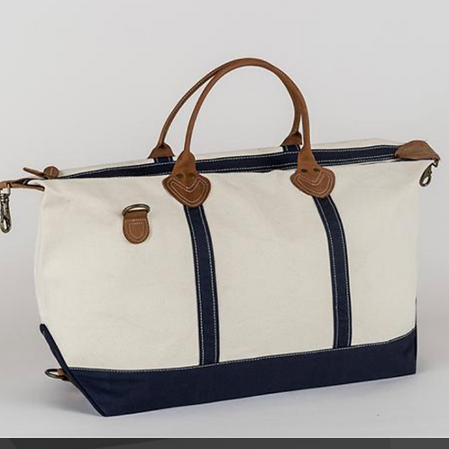 Navy Canvas Duffel - PSU