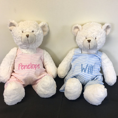 "18"" Bear - Pink or Blue"