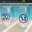 Thumbnail: 4 Acrylic Stemless Wine Glasses