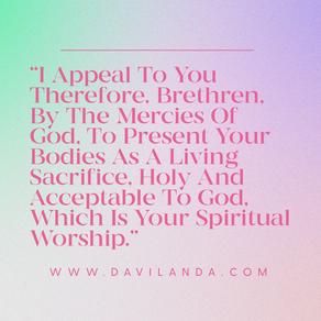 Live Up to God's Standard